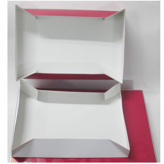 Folding Thick Cardboard Paper Packaging Box for Garment Clothes