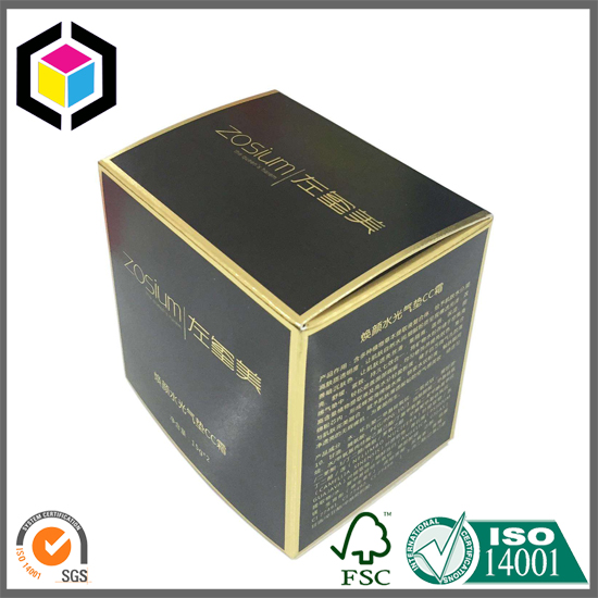 RTE Style Custom Color Print Cream Paper Packaging Box