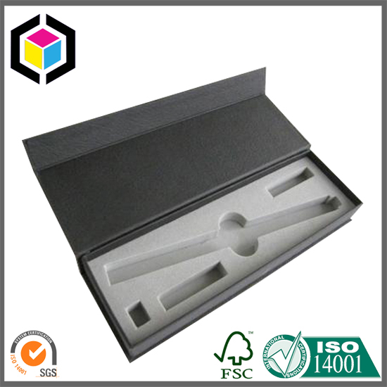 Magnet Close Rigid Paper Gift Tools Packaging Box with Foam