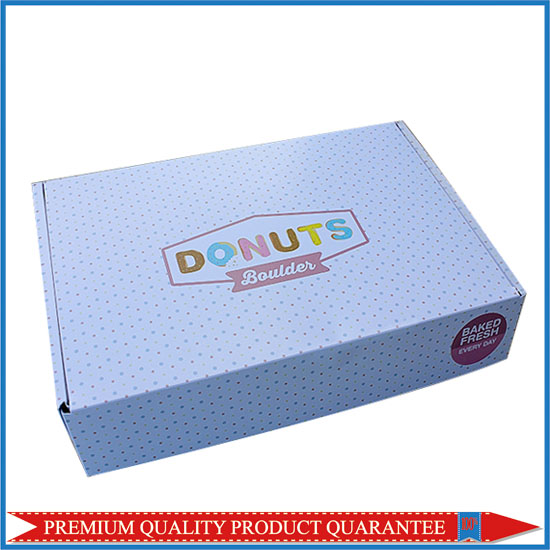Donuts Mailing Box Corrugated Board