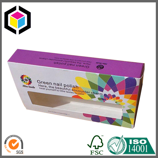 Open Window Color Printing Cardboard Carton Box