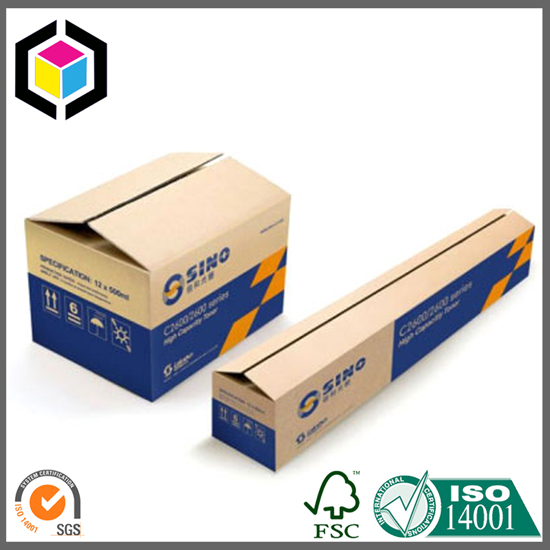 Large Long Sized Corrugated Cardboard Packaging Box