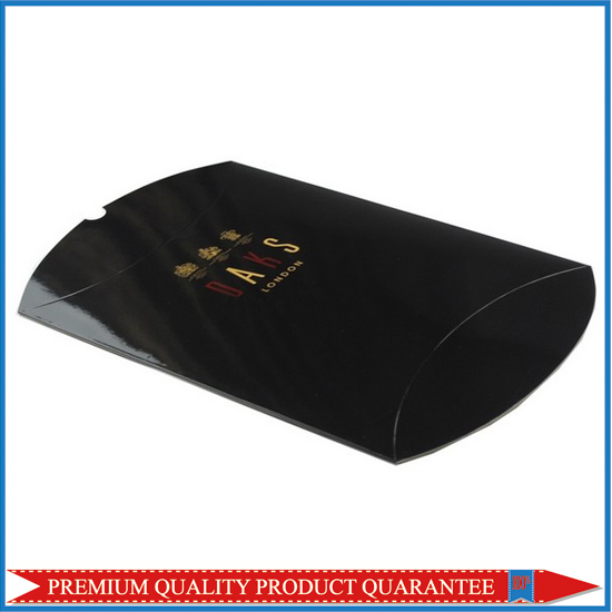 Glossy Black Pillow Box