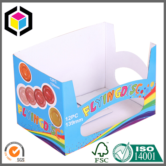CMYK Full Color Offset Print Corrugated POP Display Box