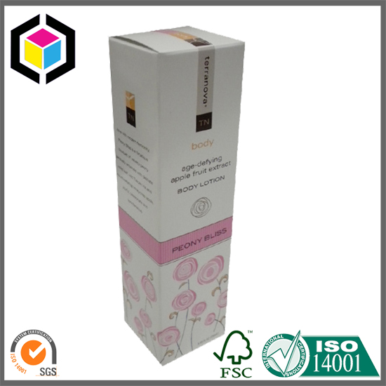 Lotion Paper Packaging Box, STE Box Style