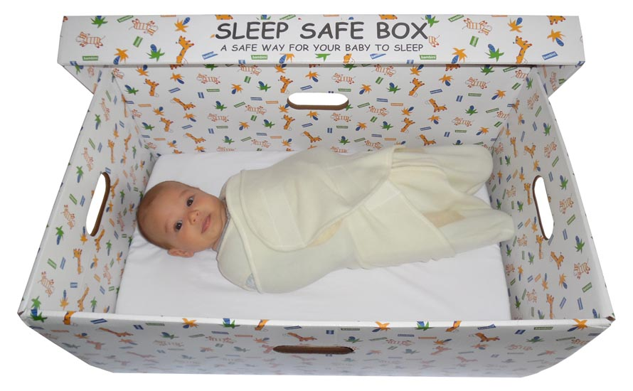 Cardboard Baby Box to Reduce Infant Death Rates