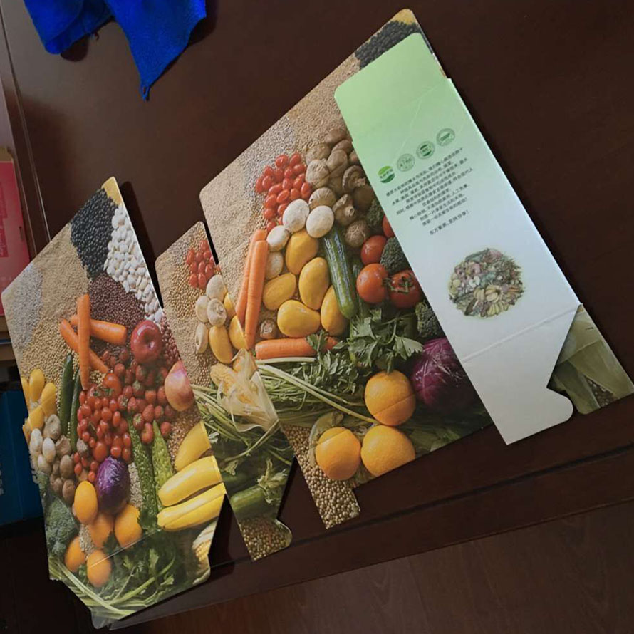 Two Sides Color Offset Printing Corrugated Paper Packaging Box