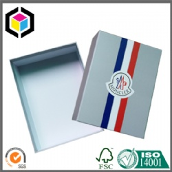 Matte Color Print Rigid Cardboard Paper Clothes Packaging Box