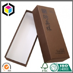 Color Print Cardboard Paper Packaging Box for Socks
