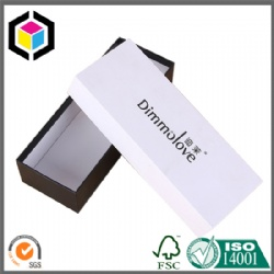 Lift Off Lid Rigid Two Pieces Setup Cardboard Paper Packaging Box