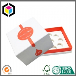White EVA Foam Nail Polish Bottle Cardboard Gift Paper Box