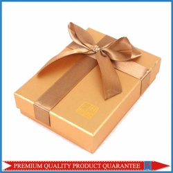 Golden Color Gift Packaging Box