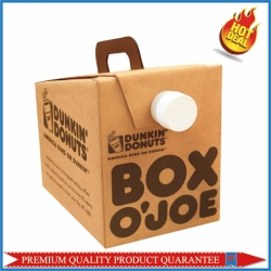 Beverages Packaging Box with Handle
