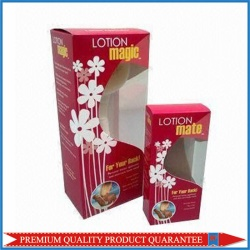 Clear Window Color Cardboard Paper Box