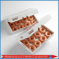 12 Pack Donuts Paper Packaging Box