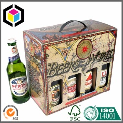CMYK Full Color Offset Print Beer Carton Box