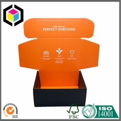 Both Sides Color Printing Corrugated Mailing Box