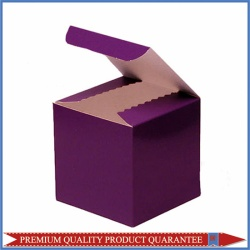 Cube Paper Box for Party Wraps