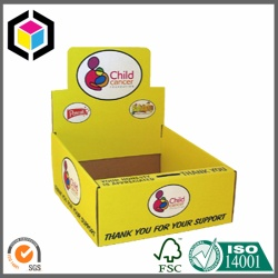 Color Print Counter Cardboard POP Display Box