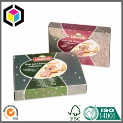 Cheese Food Candy Paper Packaging Box