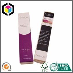 Matte Laminated Tuck Top Perfume Paper Box