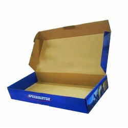 folded corrugated box