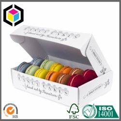 Biscuit Macaron Food Grade Paper Packaging Box