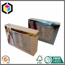 UV Ink Color Print Metallic Packing Paper Box