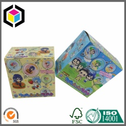 First Class Children Toy Color Paper Box, Toys Packaging Box