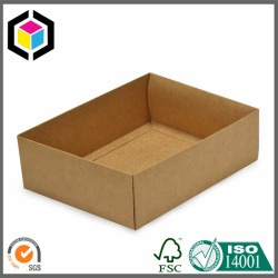 Customized Design Plain Kraft Paper Tray