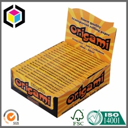 Single Wall Full Color Offset Print Corrugated Cardboard Display Box