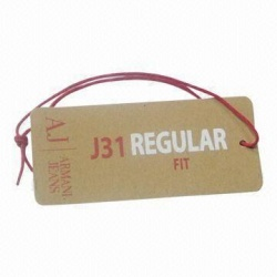 garment jeans paper hang tags