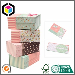 Matte Color Printing Foldable Cardboard Gift Box with Magnet