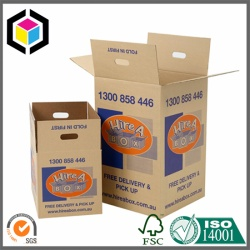Flexo Removalist Corrugated Cardboard House Moving Box