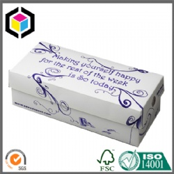 Shoes Cardboard Packaging Box with Custom Color Print