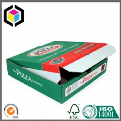 Flexo Color Print Corrugated Pizza Box