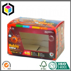 Toy Cardboard Box with PET Window