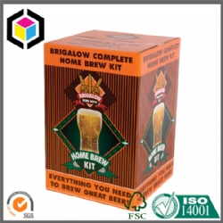High Quality RSC Corrugated Beer Packaging Box