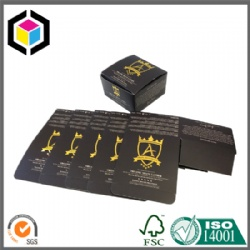 Tuck Top Auto Bottom Paper Box with Foil Stamping Logo