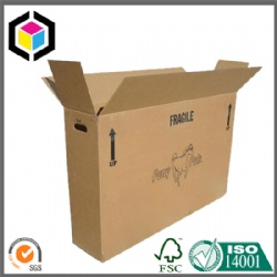 Triple Wall Corrugated Cardboard Bicycle Paper Packaging Box