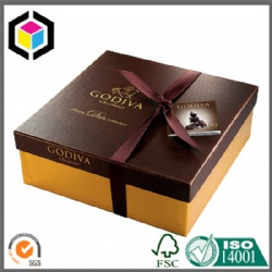 Special Surface Rigid Cardboard Chocolate Paper Box