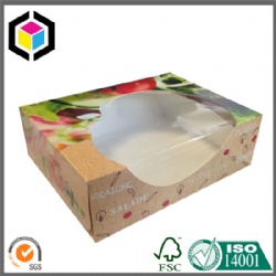 Plastic Clear Window Cardboard Paper Packaging Box