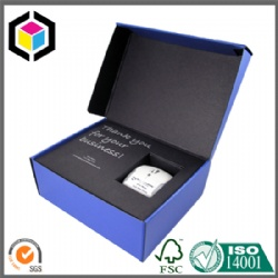 Interior Black Color Print Cardboard Promotion Shipping Box