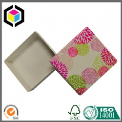 Rigid Two Pieces Cardboard Paper Jewelry Gift Box
