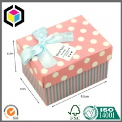 Color Print Cardboard Soap Gift Paper Packaging Box with Lid