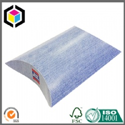 CMYK Full Color Litho Print Cardboard Paper Pillow Box