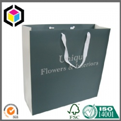 OEM Color Printing Mockup Paper Bag with Cotton Handle